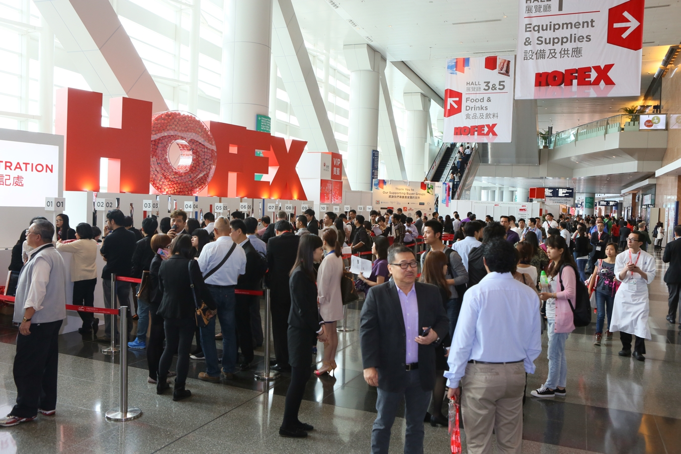 HOFEX 2015 will take place in the award-winning, multipurpose-built Hong Kong Convention and Exhibition Centre which is one of the largest in Asia. Located in the heart of Wanchai on the Hong Kong Island, the centre is one of the world's most impressive, efficient and functional exhibition venues for exhibitors and buyers alike
