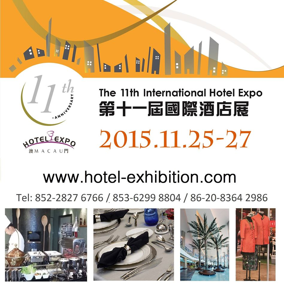The 11th International Hotel Expo 2015 Macau
