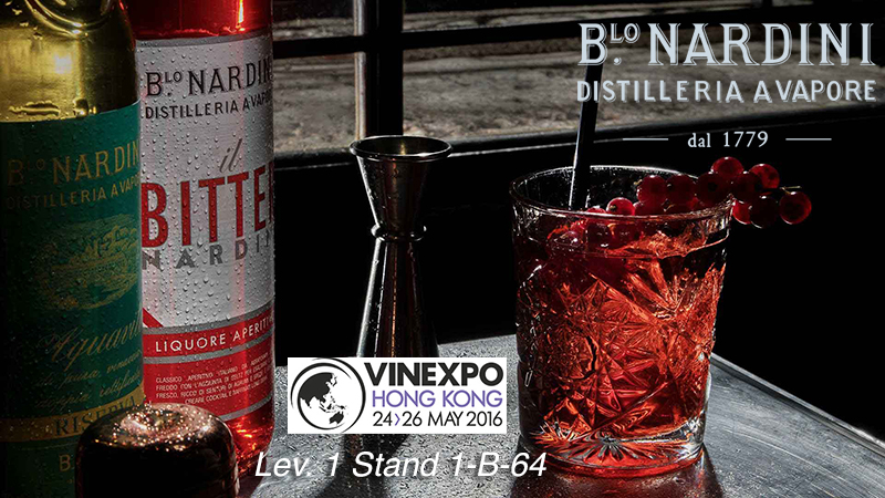 Nardini at Vinexpo Hong Kong 2016