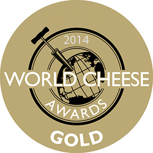 Parmigiano Reggiano Giansanti Gold medal at World Cheese Awards 2014