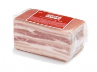 Cooked Pancetta with skin logo