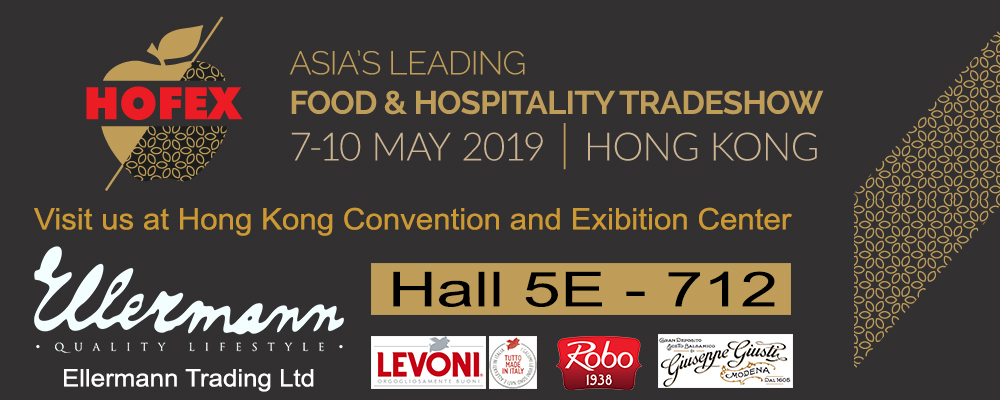 Visit us at Hofex 2019 Ellermann Trading booth 5E-712