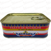 Anchovy Fillets in olive oil logo