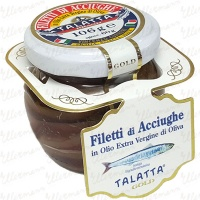 Anchovy Fillets in Extra Virgin Olive Oil