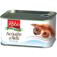 Anchovy Fillets in sunflower oil logo