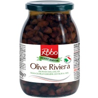Pitted Riviera Olives in Extra VIrgin Olive Oil