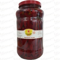 Whole Calabrian Pickled Peppers in Sunflower Oil logo