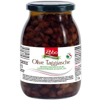 Pitted Taggiasca Olives in Extra Virgin Olive Oil logo