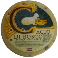 Cacio di Bosco Pecorino cheese with truffle